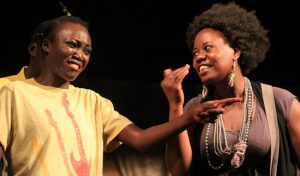 Ga-AD!, a theatre play that seeks to expose hypocrisy among church leaders in Uganda who preach against what they term as immoral acts in society while they themselves deliberately commit those very sins the very next moment.