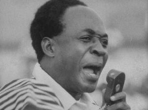 Kwame Nkrumah, President, Ghana.
