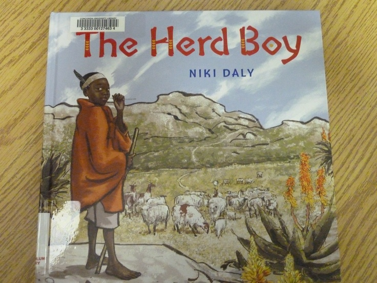 The Herd Boy by South African author and illustrator Niki Daly who has been nominated for the Astrid Lindgren Award