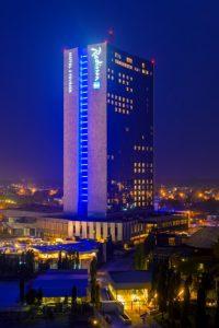 Radisson Blu Hotel in Lome, Togo.