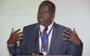 Dr Fred Matiang'i, Kenya's Education Minister, calls on ACE II partner governments called on all governments to end bureaucratic delays that slow up project implementation.