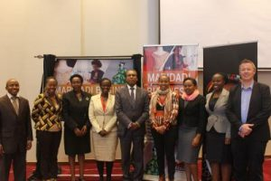 Hivos launches report on Kenya's US$330 Million Per Year Fashion and Textile Industry in Nairobi, Kenya, on June 21, 2016.