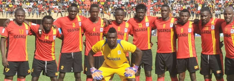 Uganda Cranes, winner of the CAF National Team of the Year.