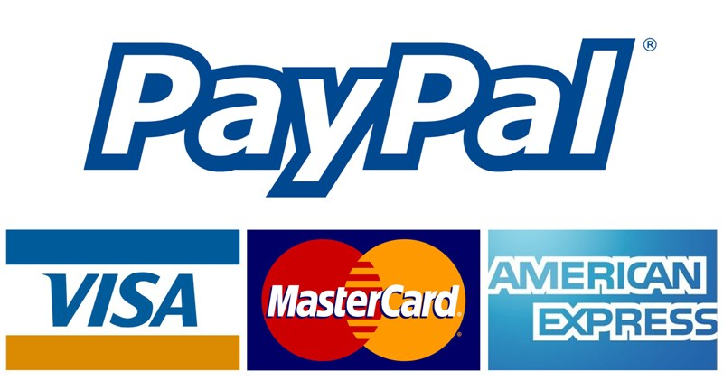 Global Credit Cards and PayPalmoney payment system.