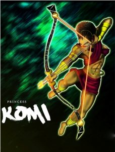 Princess Komi in a a database for African cartoons, video games and comics.