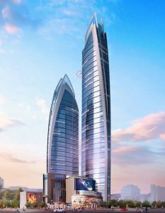 House Towers shall comprise a luxury entertainment complex, upmarket offices and a 5-star hotel.