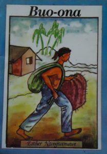 Buo-ona, a fantasy folktale written by Esther Nwogwonuwe of Nigeria