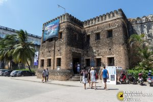 Ngome Kongwe or the Old Fort in Stone Town, a UNESCO-declared World Heritage Site, is the home of Zanzibar International Film Festival