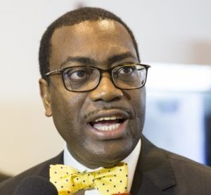 Dr Akinwumi Adesina, President of the African Development Bank, is expected at the Africa 2017 summit in Egypt.