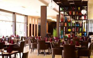 Restaurant of DoubleTree Hulinbham Nairobi Hotel