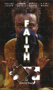 FAITH by Jackline Asava shows how a woman in love demonstrates that love for her faith and soon-to-be husband.