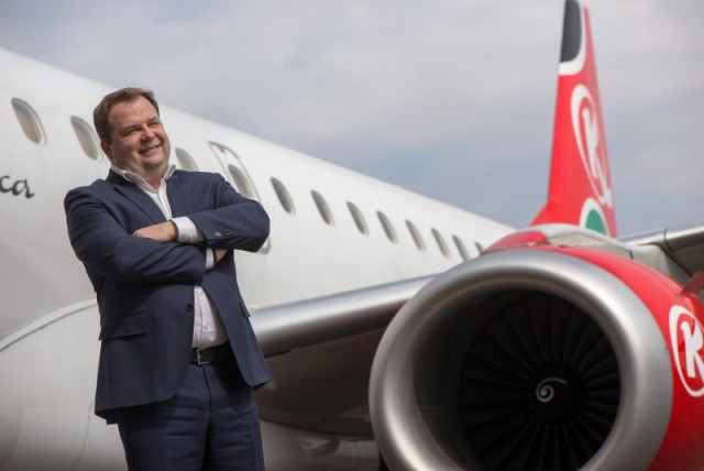 Sebastian Mikosz, Group Managing Director and CEO of Kenya Airways, says direct flights fit within Kenya Airways' strategy to attract corporate and high-end tourism traffic from the world to Kenya and Africa
