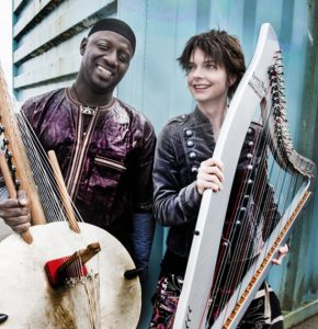 Catrin Finch and Seckou Keita have built a formidable reputation for extraordinary performances. Pic by Judith Burrows