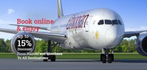 Ethiopian launches four new routes, promotes'Inter Africa Travel' for US$99 'for travel within Africa except West Africa' and 'US$299 for Travel to and from West Africa'.