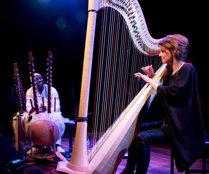 Senegalese Kora Player and Welsh Harpist to Release Second Album