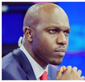 Larry Madowo has previously hosted his own radio show, written a weekly newspaper column and fronted many popular TV programmes.