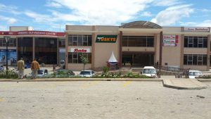 Milele Mall in Ngong Hills on the outskirts of Nairobi is charging customers for the use of its toilets, motor vehicle parking space and a children's playground.